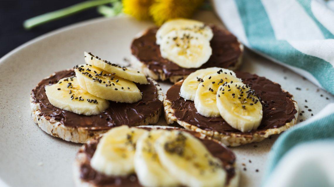 Рецепти с шоколад: шоколадова пица с банани